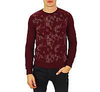 Бордовый мужской свитшот ARMEX