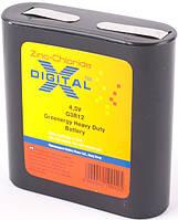 Батарейка солевая квадратная X-Digital 3R12 4,5V Zinc-chloride battery
