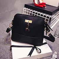 Женский  клатч сумка черная