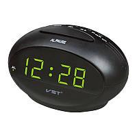 Часы Vst 711-2 Green LED