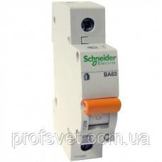 Автомат выключатель Schneider Electric 1p 40А ВА63