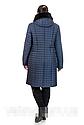 Новинка! Стеганный зимний плащ 50 р баклажан; 58 р темно синие, фото 3