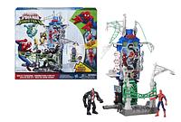 Игровой набор Человек-паук Город паутины, Веб Сити, Marvel Spider-Man Web City Showdown Play Set