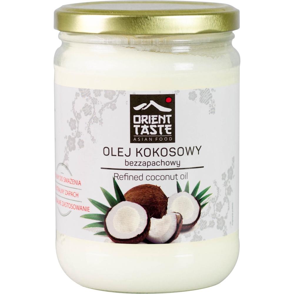 Масло Кокосовое 500мл рафинированое Orient Taste Olej Kokosowy