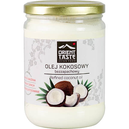 Масло Кокосовое 500мл рафинированое Orient Taste Olej Kokosowy, фото 2