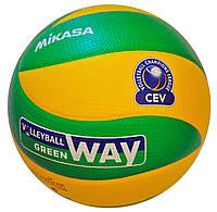 М'яч волейбольний Mikasa MVA200 cev