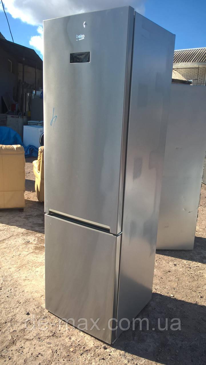 Холодильник BEKO RCNE400E45X  No frost A+++