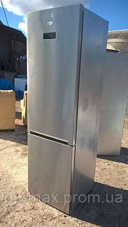 Холодильник BEKO RCNE400E45X  No frost A++