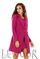 Чудное платье с удлинённым пиджаком