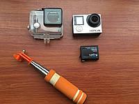 Екшн-камера  GoPro Hero 4 Black + LCD + бокс + селфі-палка