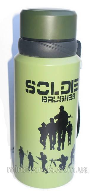 Новое поступление - термос SOLDIER BRUSHES (фляга)