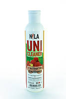 Nila Uni -Cleaner (жидкость для снятия гель-лака,акрила,очищения кистей) земляника 250мл.