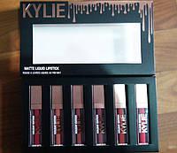 Набор Матовых Жидких Помад Kylie Holiday Edition Блеск для Губ 6 штук