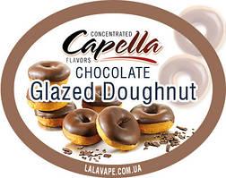 Ароматизатор Capella Chocolate Glazed Doughnut (Шоколадный пончик) Capella