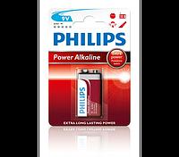 Батарейка, крона PHILIPS POWERLIFE 6LR61P1B
