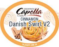 Ароматизатор Capella Cinnamon Danish Swirl V2(Датская здоба) Capella  50мл