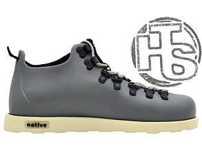 Мужские ботинки реплика Native Fitzsimmons Boots Gray/White