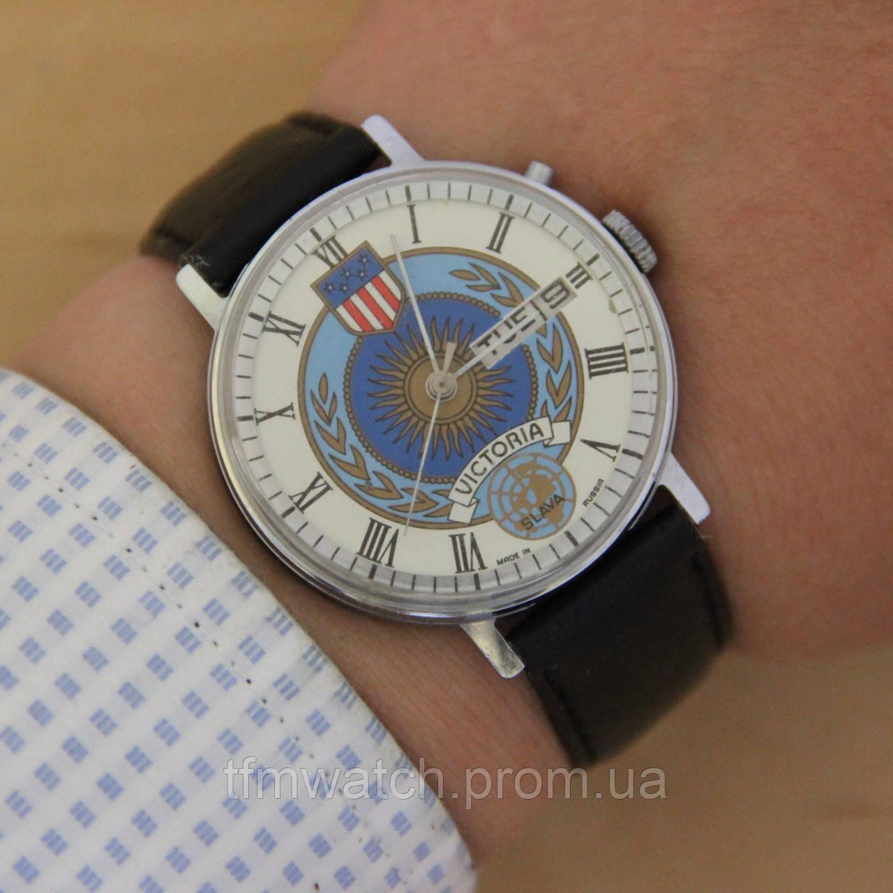 0e10549db34c Slava Victoria Слава наручные механические часы - Магазин старинных,  винтажных и антикварных часов TFMwatch в