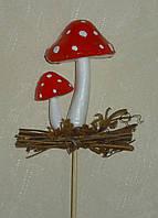 """Искусственные грибы """"семейка"""" мухоморы"""