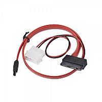 Кабель передачи данных Cablexpert (CC-MSATA-001) (Molex)+SATA - MicroSATA, 25 см
