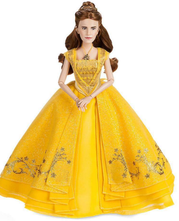 Кукла Белль Красавица и Чудовище коллекционная