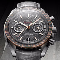 Часы Omega Speedmaster Grey Side Of The Moon Meteorite копия мужские
