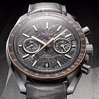 Часы Omega Speedmaster Grey Side Of The Moon Meteorite копия мужские, фото 1