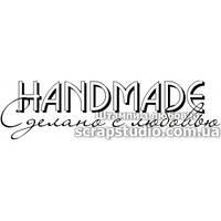 Штамп для скрапбукинга Handmade Сделано с любовью (5.8см x 1.6см) 616fa