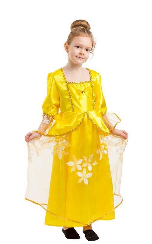 Детский карнавальный костюм Белль Красавица (4 - 9 лет) Костюмы принцесс Диснея
