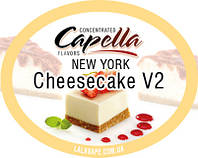 Ароматизатор Capella New York Cheesecake V2 (New York чизкейк)
