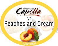 Ароматизатор Capella Peaches and Cream V2 (Персик и сливки)