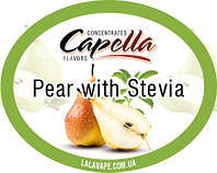 Ароматизатор Capella Pear with Stevia (Груша)
