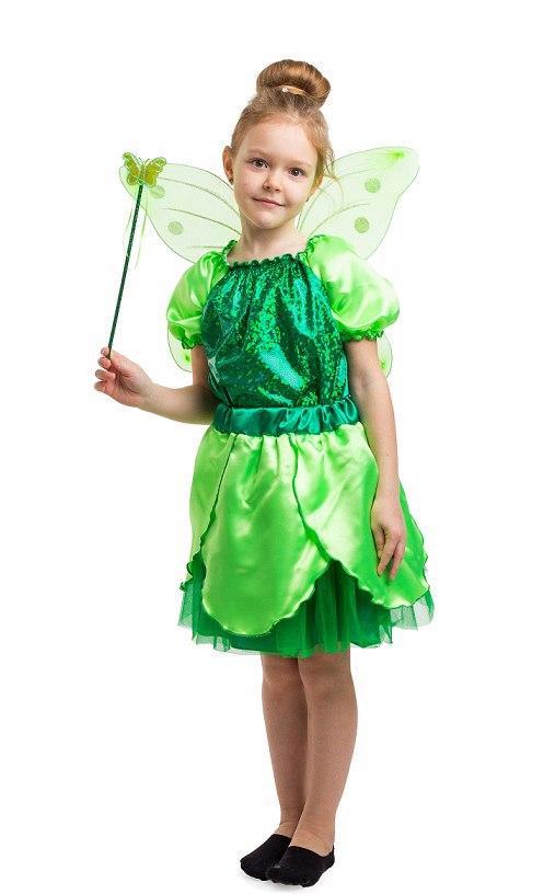 03ef8c5d896202 Детский карнавальный костюм Феи Динь-Динь (4 - 9 лет) Костюмы принцесс  Диснея