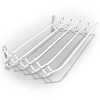 Сушилка для белья гармошка металлическая ширина 100 см Комфорт BBN-01