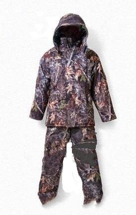 Зимний костюм для рыбалки и охоты Лес,толстый слой синтипона, водонепроницаемая мембрана алова, -30с
