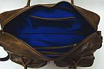 Кожаная сумка VS75  gold 40х26х10 см, фото 3