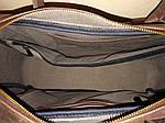 Кожаная сумка VS75  Crazy horse brown 40х26х10 см, фото 4