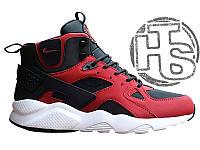 Мужские кроссовки Nike Air Huarache Winter Black/Red