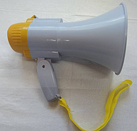 Рупор ручной с записью 10W,Мегафон RD-8S Громкоговоритель