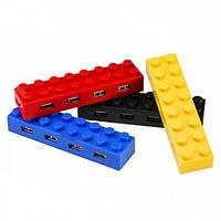 4-портовый USB хаб Лего кубики