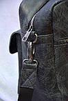 Кожаная сумка VS75  grater 40х26х10 см, фото 4
