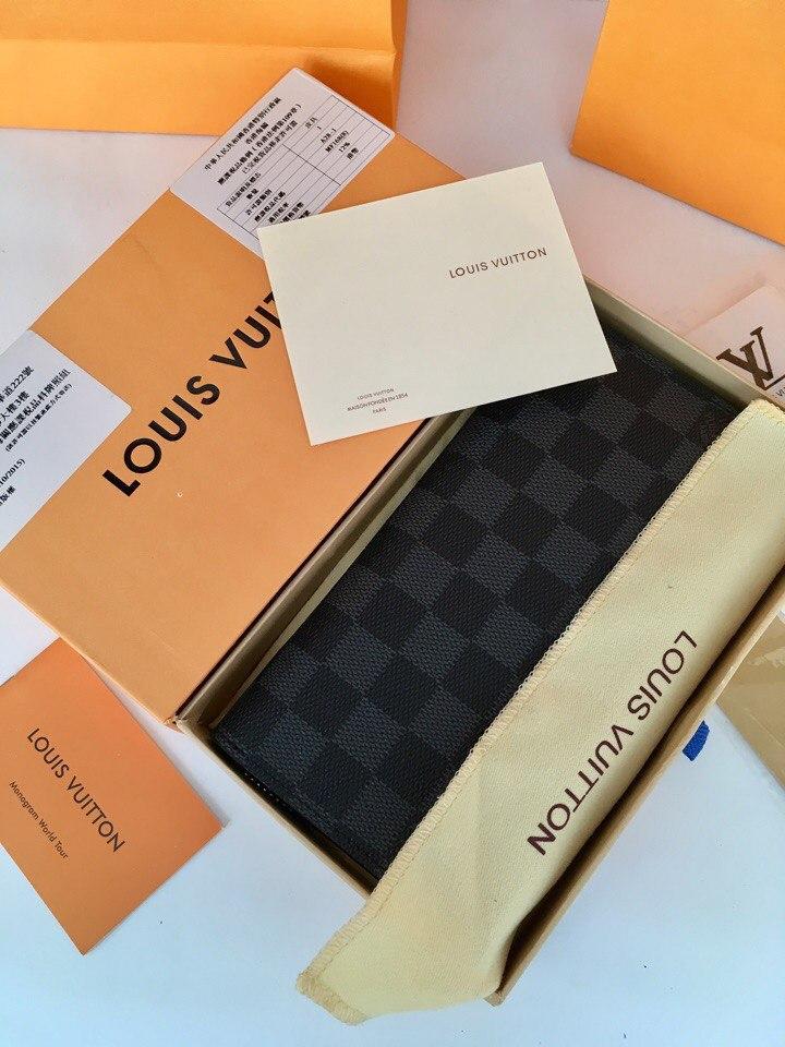 741dae093e72 Кошелек Луи Витон канва Damier Graphite натуральная кожа, цена 2 352 грн.,  купить в Киеве — Prom.ua (ID#534380875)