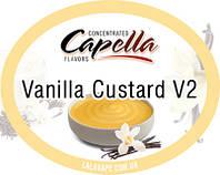 Ароматизатор Capella Vanilla Custard V2 (Ванильный крем) Capella  5мл
