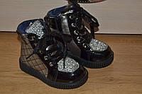 Детские зимние ботинки для девочки на овчине,качество отличное.24 р и все!!.