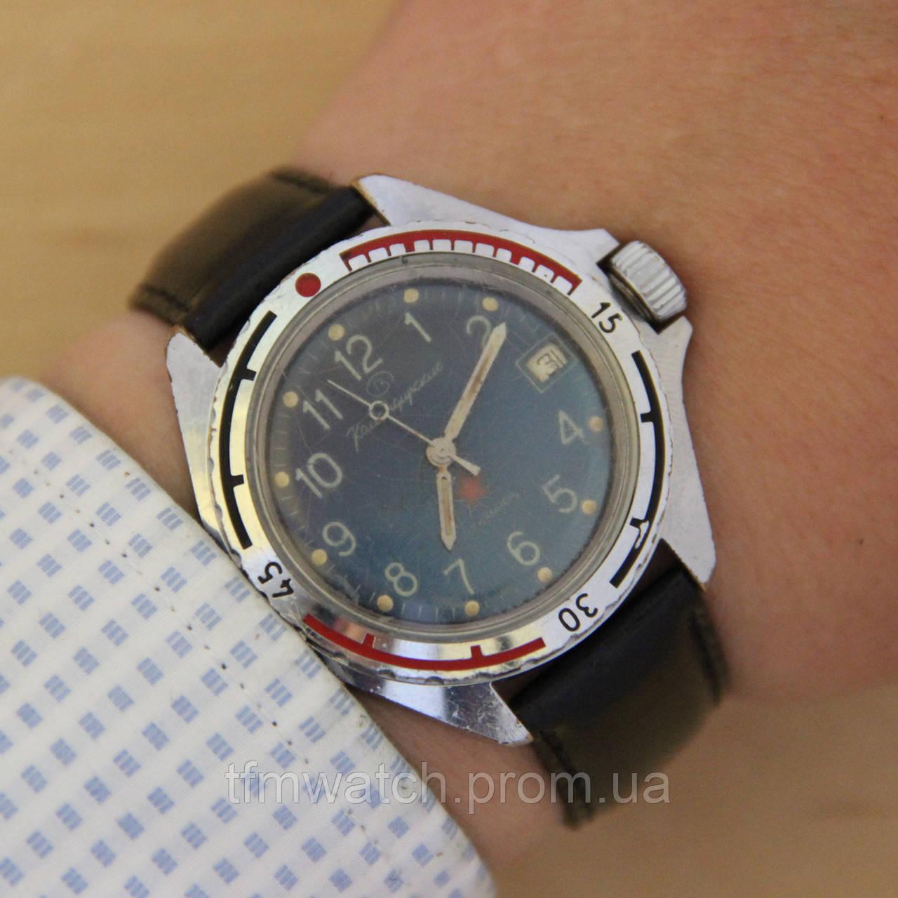 58f90d84c31d Командирские армейские механические часы СССР