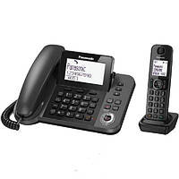 Телефон Dect Panasonic KX-TGF320UCM Black