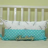 Бортики подушки в кроватку, Подушка - 05