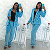 Уютная махровая пижамка