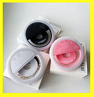 Селфи Кольцо на USB аккумуляторе - Светодиодное Кольцо Selfie Ring (в 3-ех цветах)