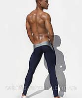 Мужские штаны для спорта Aqux Blue\Gray